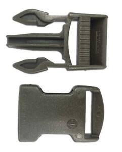 2-Hebillas-completas-liberacion-25-mm-verde-ITW-Nexus-RAL-6014-SR25-olive-drab