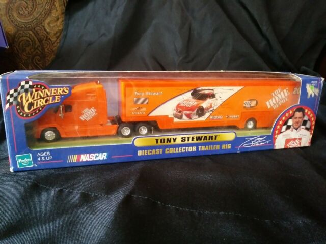 1:64 Diecast Collector Trailer Rig Tony Stewart Winners Circle