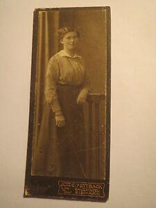 Salzwedel Bismark - Elisabeth Schulze - 1915 - als stehende Frau - Portrait/ CDV - Laatzen, Deutschland - Salzwedel Bismark - Elisabeth Schulze - 1915 - als stehende Frau - Portrait/ CDV - Laatzen, Deutschland