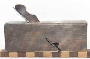 "Vintage 1-7/8"" Arrowmammett Works Skew Iron Rabbet Molding Plane (INV H177)"