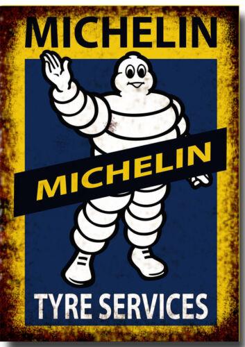 Michelin Tyre Service Retro Repro Metal Signs