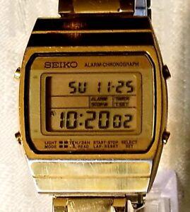 65945d0c9 RARE,UNIQUE Digital Vintage Watch SEIKO A939-5019 Alarm Chronograph ...