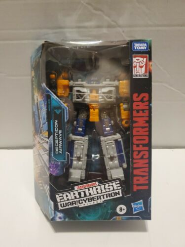 HASBRO Transformers Earthrise Deluxe WFC-E18 AIRWAVE Action Figure