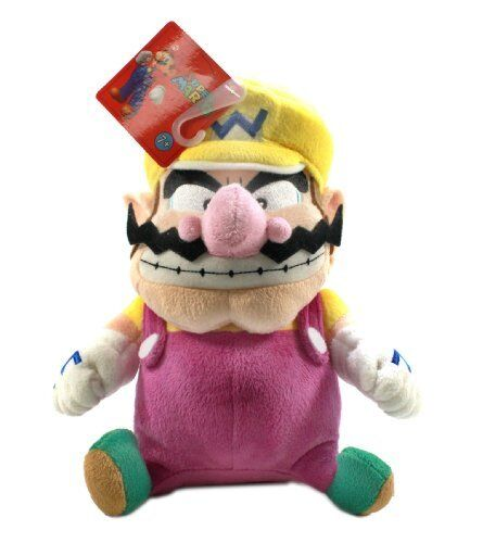 9-Inch Wario Little Buddy Super Mario Plush