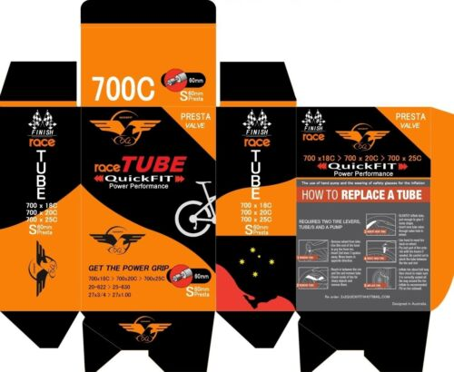 10 x Inner Butyl Bicycle Tubes 700x18//25C 80mm Presta Valve for TT and Road Bike