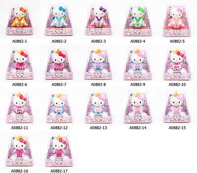 "Hello Kitty Cat Kimono Cute Neko Solar Toy Powered Dancing Kid 3.5"" Japan A0882"