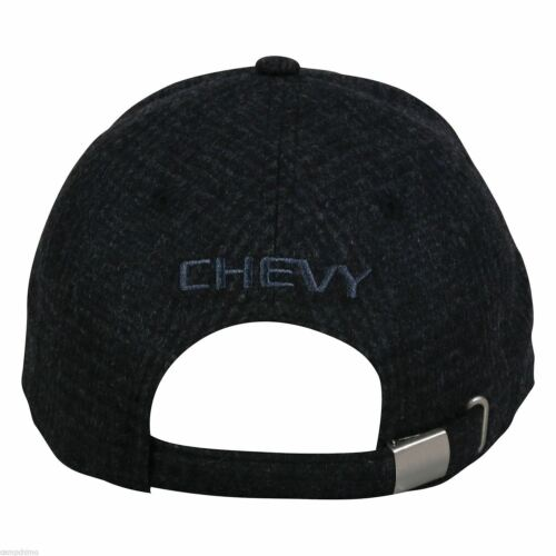 CHEVY® LOGO WOOL BLEND PLAID CHEVROLET HAT GEN13A CAP