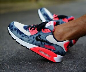 cheap for discount 7c25f 5d1bb Image is loading RARE-Nike-Air-Max-90-Dnm-QS-Infrared-