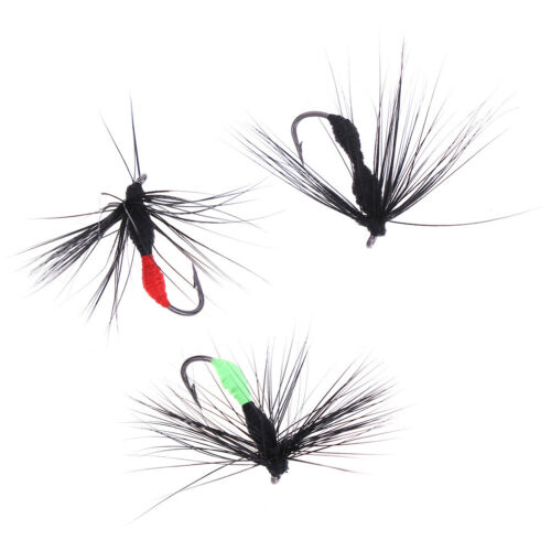 10Pcs Artificial Portable Bionic Bait  Ant Insect Crank Fly Trout Fishing LureHC