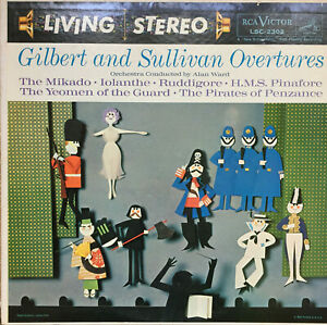 RCA-LIVING-STEREO-LSC-2302-SHADED-DOG-GILBERT-amp-SULLIVAN-WARD-6S-6S-NM-NM