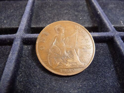 1930 GREAT BRITAIN LARGE PENNY IN FINE CONDITION M-167