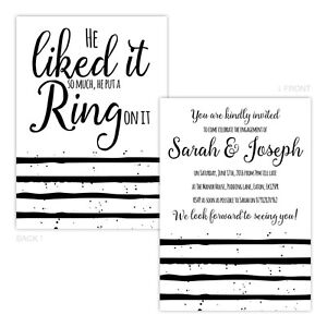 Personalised-engagement-party-invitations-HE-PUT-A-RING-ON-IT-BLACK-WHITE-FREE-E