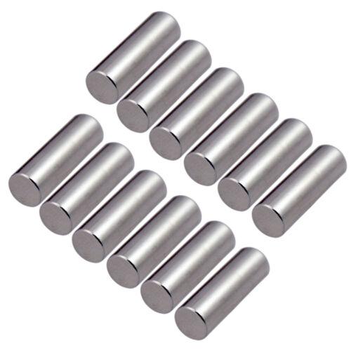 Pack E-Gitarrenteile Pickup Magnetspalten Bar Metal 15x5mm 12 Stück