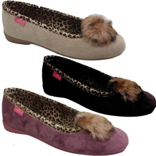doux en lᄄᆭopard Kln093 fourrure fausse pour femmes ᄄᄂ Pantoufles bord kZiPOuwXT