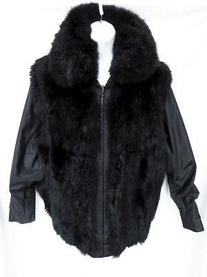 Womens Black New Zealand Opossum Fur, Possum Fur Coats In N Z
