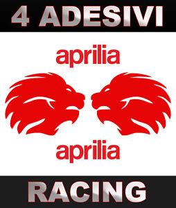 4-grandi-Adesivi-APRILIA-LION-big-stickers-Moto-GP-tuning-racing-vari-colori