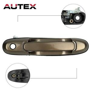 Front Right Passenger Outside Door Handle for 1998-2003 Toyota Sienna Black
