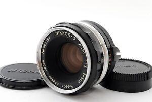 Exc-Nikon-Nippon-Kogaku-Nikkor-S-Auto-Non-Ai-5cm-50mm-f-2-MF-Lens-JAPAN-693