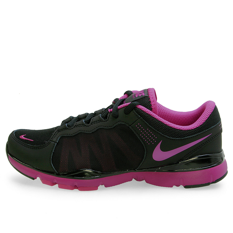 Nike WMNS FLEX TRAINER 2 2 2 Nero Magenta Scarpe Da Ginnastica Viola Tg _ 7 a1f500