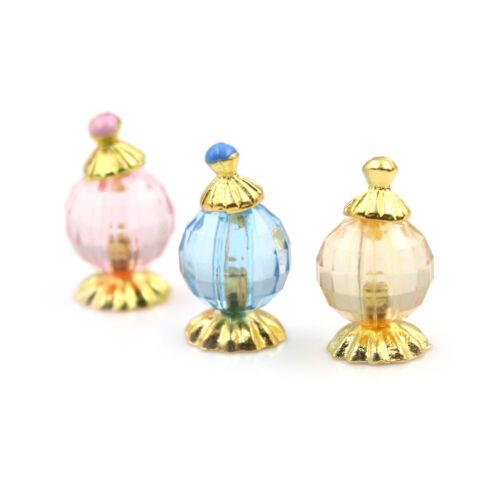 3pcs 1:12 casa delle bambole in miniatura profumo bagno camera da letto decorBHQ