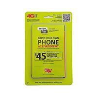 Straight Talk Verizon 4g Lte 3g Cdma Bring Your Own Phone Activ... Free Shipping