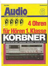 AUDIO Braun C 3 Harman Kardon CD 491  Sonderdruck 6/1984  *****TOPP!!!! *****