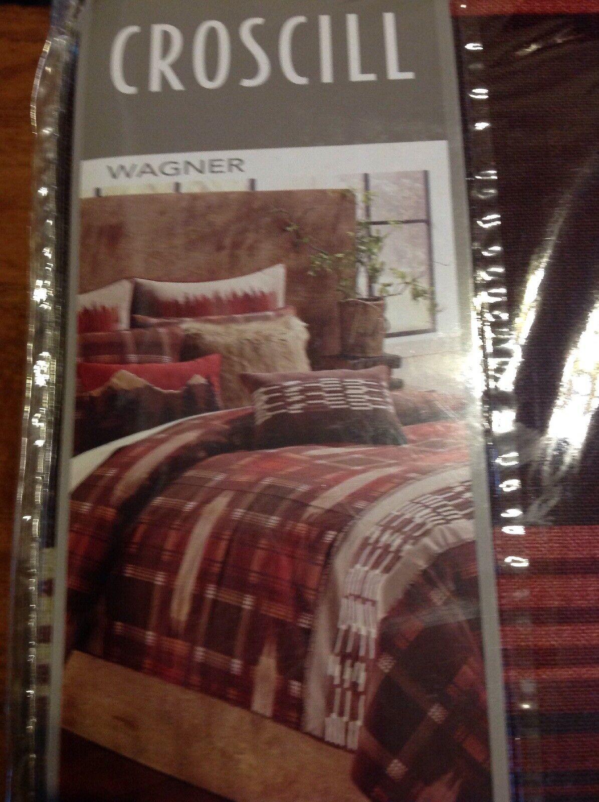 Croscill Wagner King Duvet Cover, 110x96', NIP