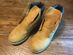 4f8ac347a8b Details about NEW TIMBERLAND WORK BOOTS YOUTH JUNIOR BOYS SIZE 7 WHEAT  CLASSIC WATERPROOF