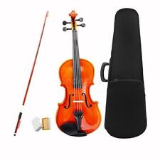 1/4 Size Violin Fiddle Basswood Steel String Arbor Bow Toy for Kids 6-8 J7F0