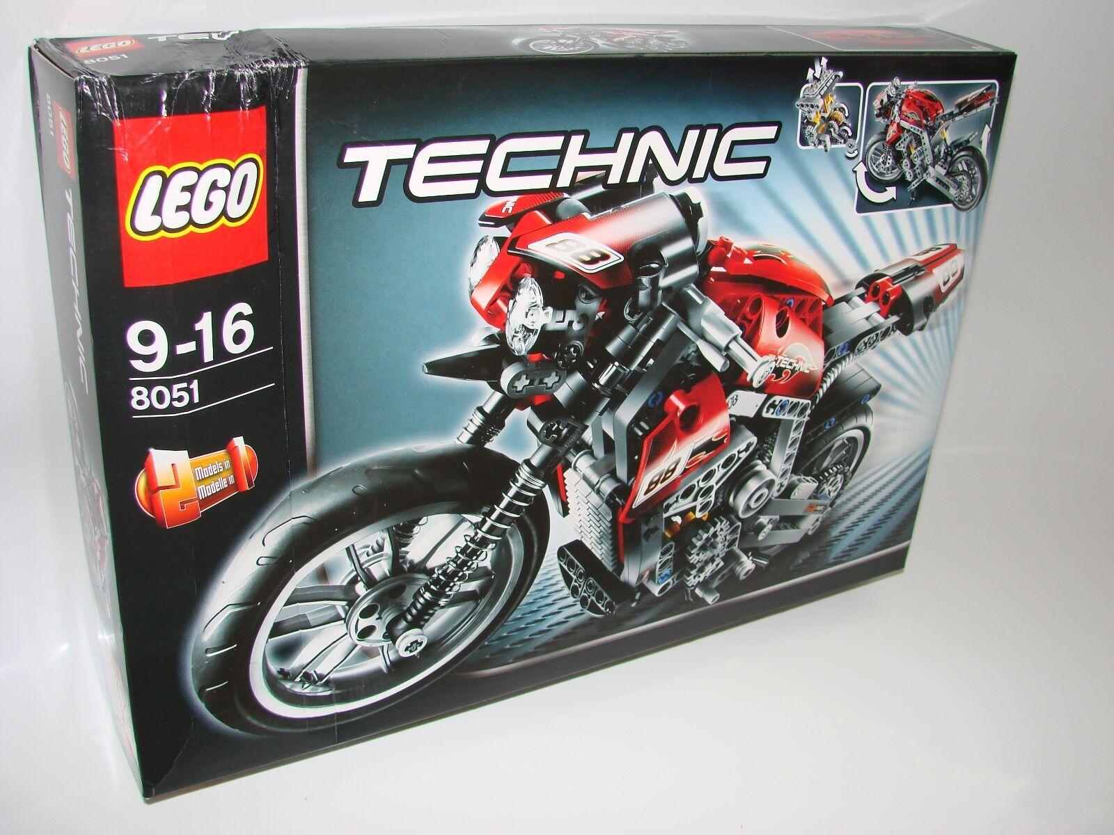 LEGO ® Technic Technology 8051 MOTO NUOVO 2te scelta _ Street Bike NEW BOX 2nd Choice