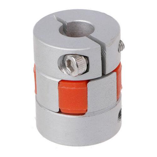 5mm x 8mm x 25mm CNC Schrittmotor Flexible Plum Jaw Wellenkupplung Koppler W7E9