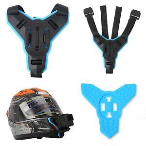 Casco-Supporto-Bicicletta-Moto-Helmet-Chin-Per-Gopro-Hero-6-5-4-3-Action-Camera