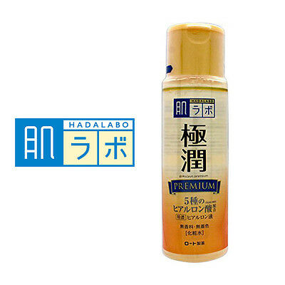 HADALABO☆Rohto Japan-Gokujyun Premium Hyaluronic acid Lotion 170mL,JAIP