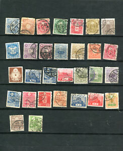 Lot-d-039-anciens-timbres-Japon-30-old-Stamps-of-Japan