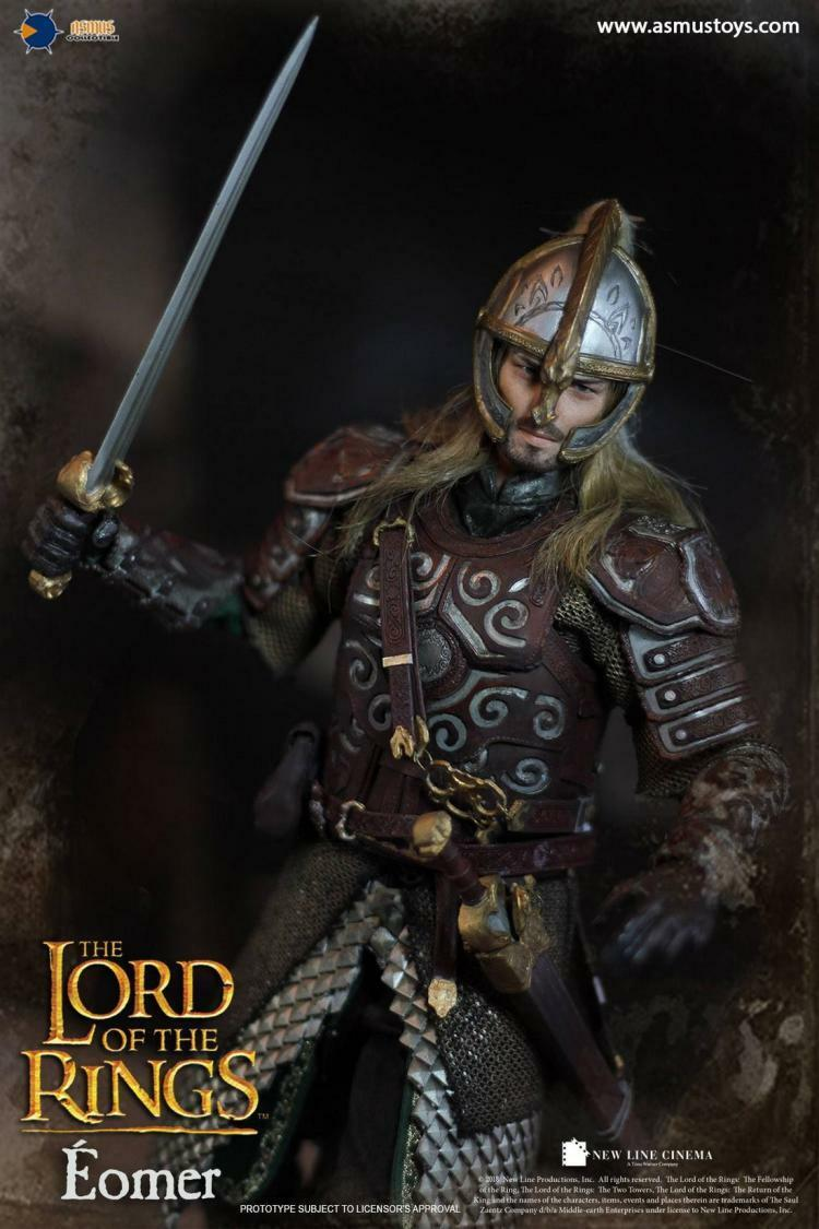 Asmus Toys LOTR011 1 6 The Lord of the Rings Eomer Action Figure Limited Model