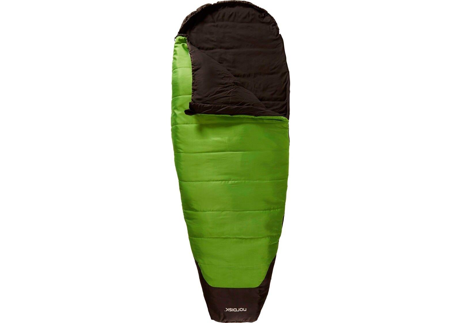 Nordisk abel mumienschklafsack eiform = libertad de movimiento 2 temperaturas 2 tamaño