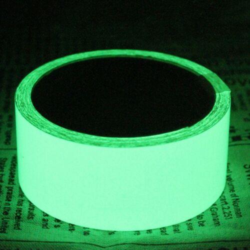 Grünes Lichtband Nachleuchtend Fluoreszierend Leuchtband Klebe Band Mode