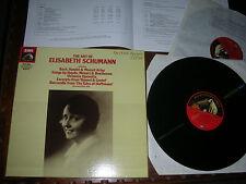 MINT 2LP BOX  ELISABETH SCHUMANN ( 1926-45) Bach Mozart Gaynd Beethoven EMI UK