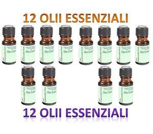 Oli Essenziali Per Diffusori.Dettagli Su 10 Flacone 2 Omaggio 10 Ml Oli Essenziali Olii Olio Per Diffusori Aromaterapia