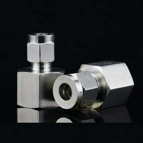 """Compression 1//2/"""" Tube OD x 1//4/"""" NPT Female Pipe Stainless Steel Fitting LOK-DLFS"""