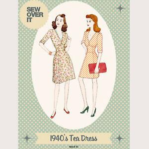 El vestido de mujer señoras elegantes Zoe Patrón De Costura UK Size 8-20