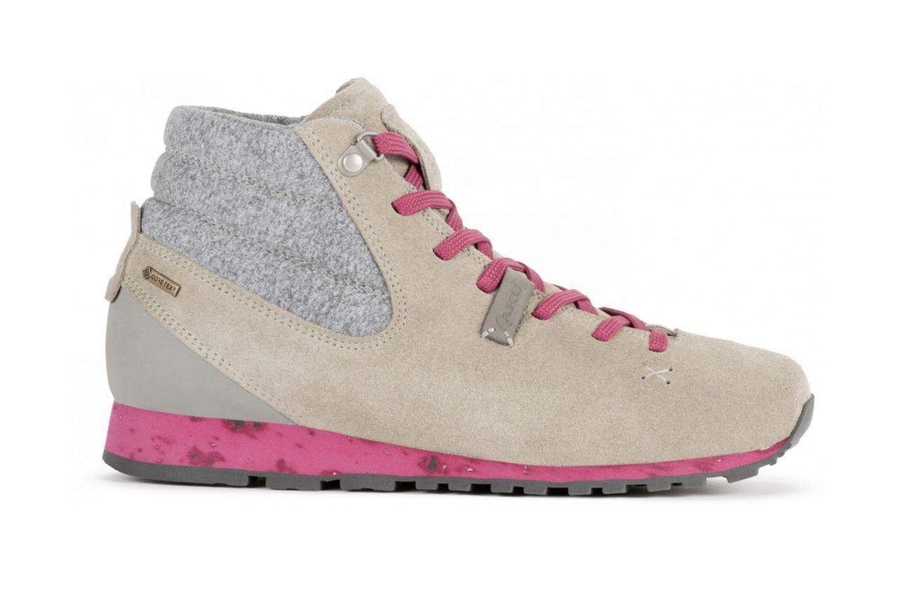 AKU bellamonet Gaia Mid Gore Tex wandertiefel calzado deportivo hellgris