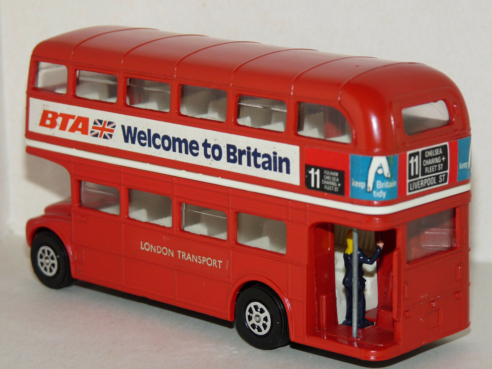 Ancien CORGI. 1974. LONDON Routemaster Bus.LONDRES Bus.LONDRES Bus.LONDRES Transport. Bus Impérial. 1 64 5c4951