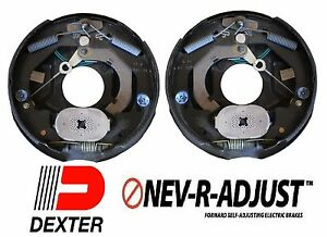 2-10-034-Dexter-3500-Nev-R-Adjust-Electric-Trailer-Brake-Never-Adjust-Pair