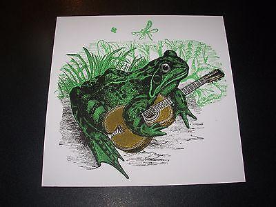 """NATE DUVAL Handbill Silkscreen Print BUSINESS CAT 4 X 6/"""" like poster art"""