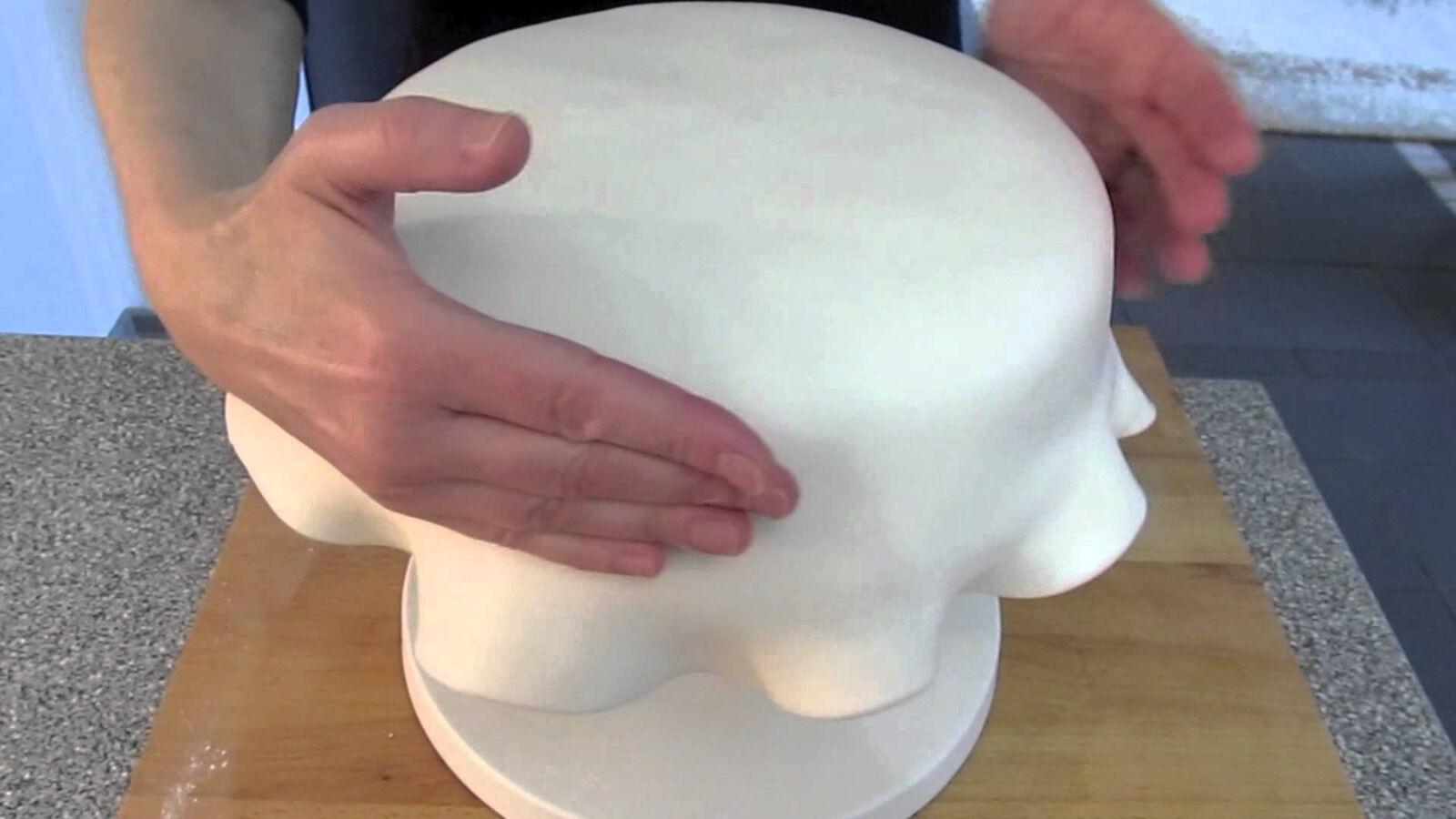 Torten Torten Torten Fondant, weiß für Motiv- und Hochzeitstorten 1000g | Sehr gute Farbe  ff53d0