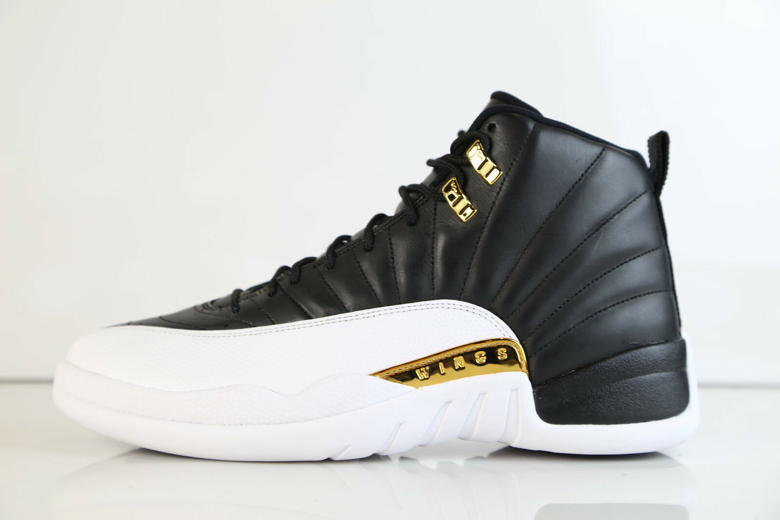 2e13d7de1e277e Nike Air Jordan Retro 12 WINGS Black Metallic gold 848692-033 848692-033  848692