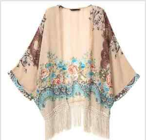 Tribal-Boho-Hippy-Blouse-Casual-Beach-Festival-Top-Ethnic-Kaftan-Floral-Bohemian