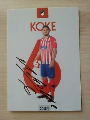 Offizielle AK Autogrammkarte *LUCAS HERNANDEZ* Atletico Madrid 18//19 2018//2019
