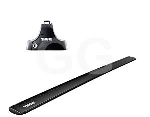 thule aero black wingbars roof rack bars bmw 2 series gran. Black Bedroom Furniture Sets. Home Design Ideas